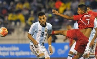 Sub 20: Argentina rescató un empate sobre el final ante Perú