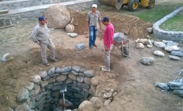La municipalidad de Andalgalá construyó un pozo absorbente en la terminal de ómnibus interurbano