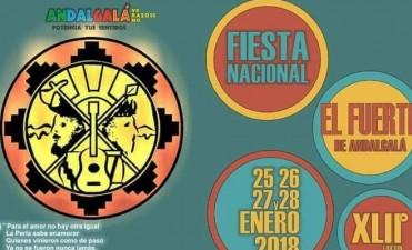 Se presentó la edición 42° del Festival de El Fuerte de Andalgalá