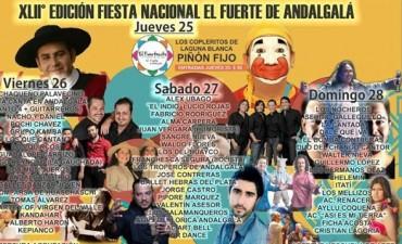 La Municipalidad de Andalgalá continua con los avances y preparativos para el Festival del Fuerte 2018