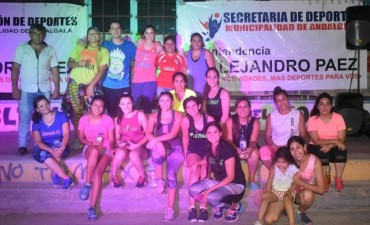 Éxito total de la Máster Class de Zumba en Andalgalá
