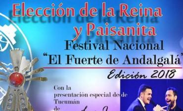 Comenzaron las inscripciones para las postulantes a reinas del Festival Nacional El Fuerte de Andalgalá