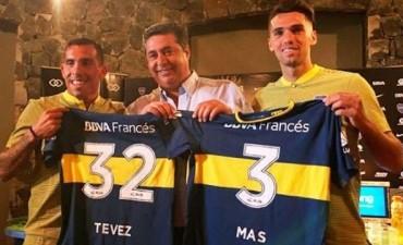 Carlos Tevez fue presentado oficialmente en Boca