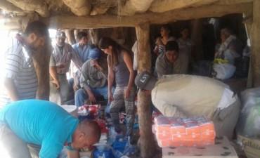 La Municipalidad de Andalgalá ayuda a pobladores de La Isla