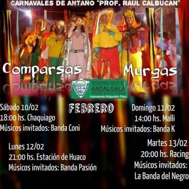 """Carnavales De Antaño """"Prof. Raúl Calbucan"""""""