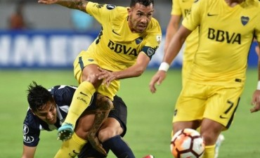 Boca no pudo con Alianza Lima y debutó con un pálido empate