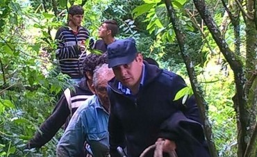 Encuentran a un anciano perdido en Aconquija