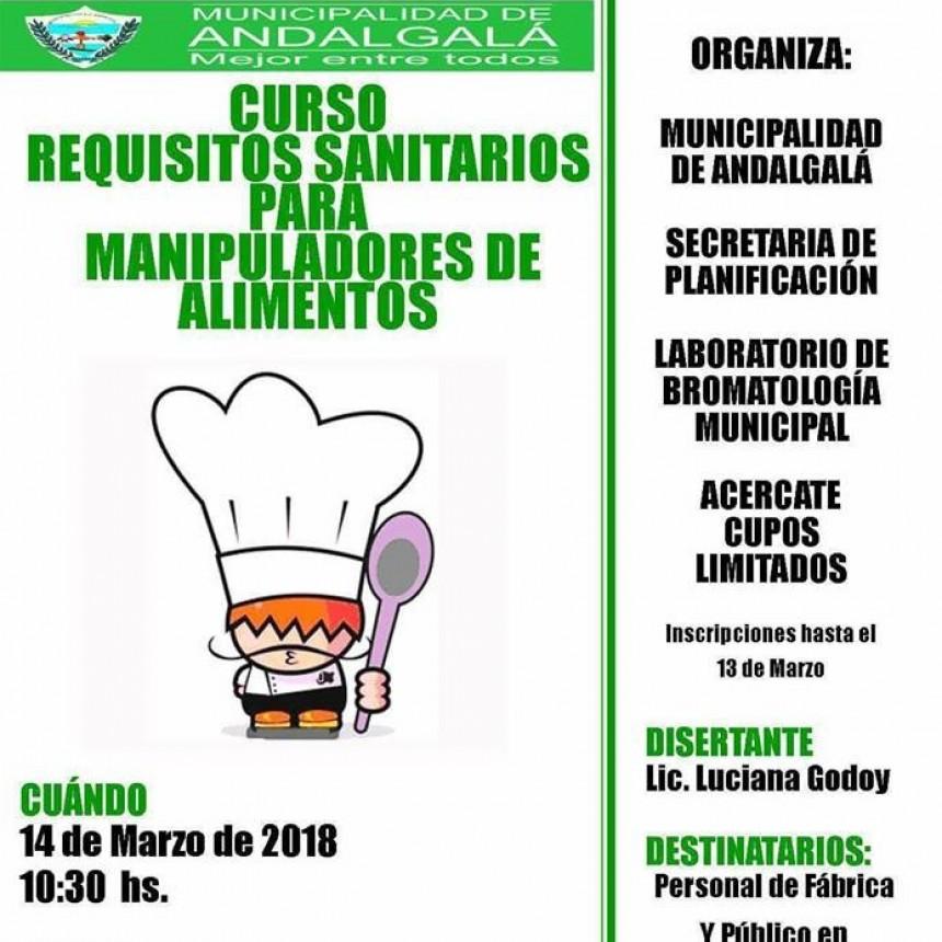 Curso Requisitos Sanitarios Para Manipuladores De Alimentos