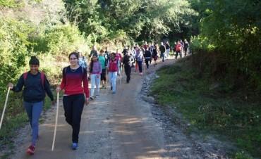 """""""Senderismo en Las Cascaditas de Choya"""", un éxito total"""