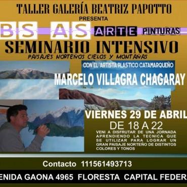 Marcelo Villagra en el Colón
