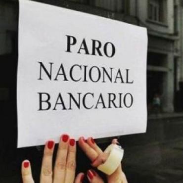 Los bancarios se adhieren al paro nacional del 6 de abril