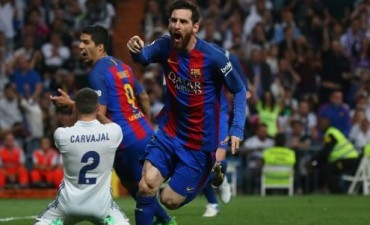 Barcelona venció a Real Madrid de la mano de Messi