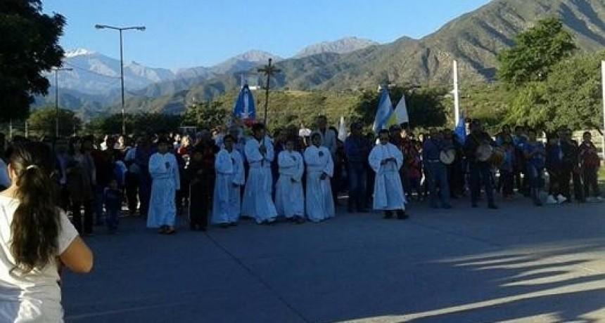 Procesión de la Virgen del Valle en Andalgalá