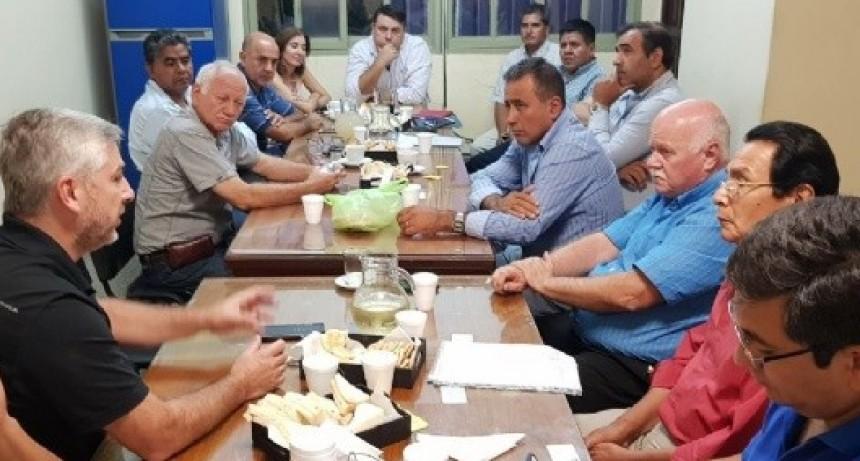 Reunión en Hacienda por el Pacto Fiscal
