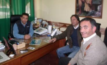 El Director de Anses Ingeniero Fernando Capdevila visitó al Intendente Alejandro Paez