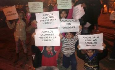 Multitudinaria reacción de los vecinos de Andalgalá a la inseguridad