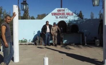 """La Municipalidad de Andalgalá refaccionó la Gruta Virgen del Valle """"El Mistol"""""""