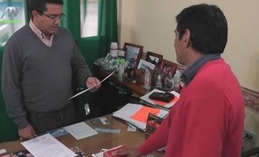 Asumió Diego Ernesto Romero en la Dirección del Hogar de Ancianos