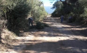 La Municipalidad de Andalgalá trabaja en distintos sectores de la ciudad