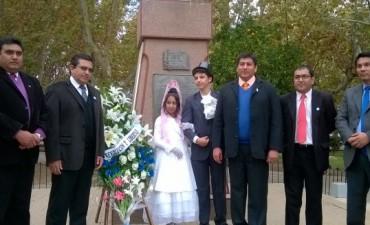 El Intendente Páez participo del acto por el 207º aniversario de la Revolución de Mayo