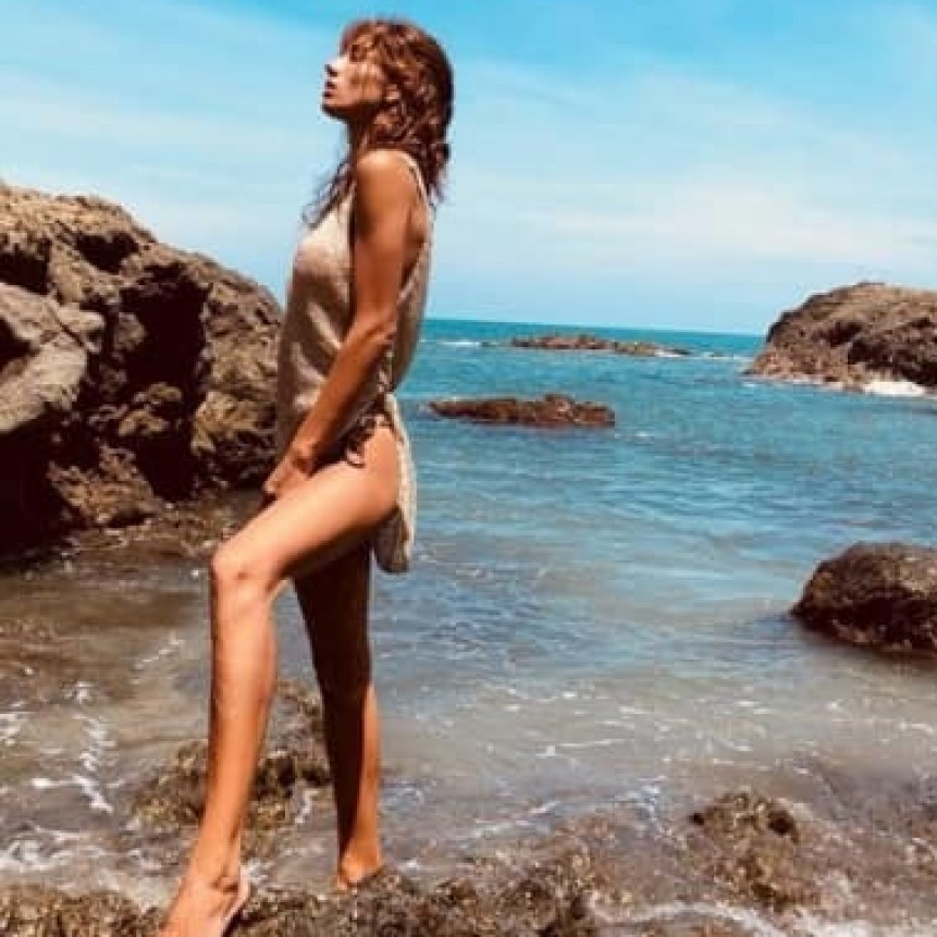 Florencia Paolini deslumbró con su belleza Santa Teresa, Costa Rica