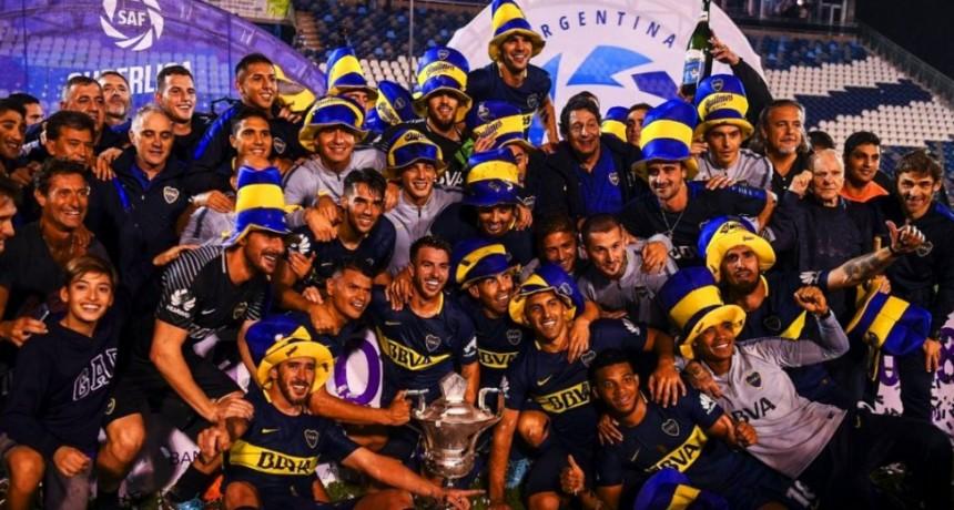 Boca campeón de la Superliga