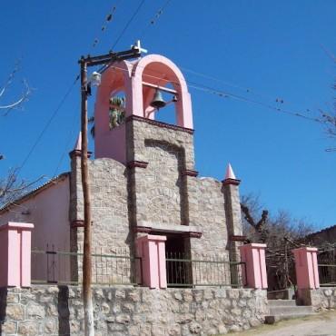 Avanzan los trabajos en la Capilla Santa Lucia del distrito del Potrero
