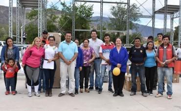 El Municipio de Andalgalá hizo entrega de 17 nuevos microemprendimientos