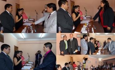 Juraron los nuevos Concejales y Secretarios del Concejo Deliberante de Andalgalá