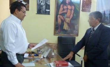 Asumió Víctor Hugo Marcial como nuevo Director de Deportes de la Municipalidad de Andalgalá