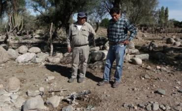 Luego de una rotura de unas mangueras el municipio trabaja en su arreglo