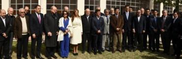 El Intendente Alejandro Paez estuvo presente en la reunión de Obispos, Gobernadores e Intendentes del NOA
