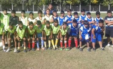 Se realizó en Andalgalá y Saujil la Prueba Regional de Talentos por el Club Rosario Central