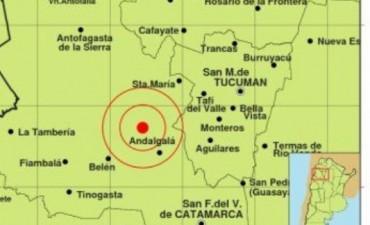 La tierra se sigue moviendo en Andalgalá