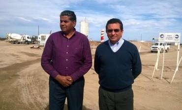 Los Intendentes de Andalgalá y Belén visitaron la obra de la ruta 46
