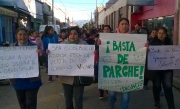 Padres se movilizaron en apoyo a las ordenanzas y para que se normalicen las clases en Andalgalá