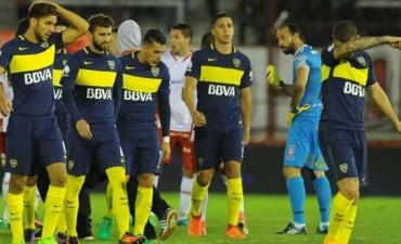 Boca dejó puntos ante Huracán y arde el campeonato