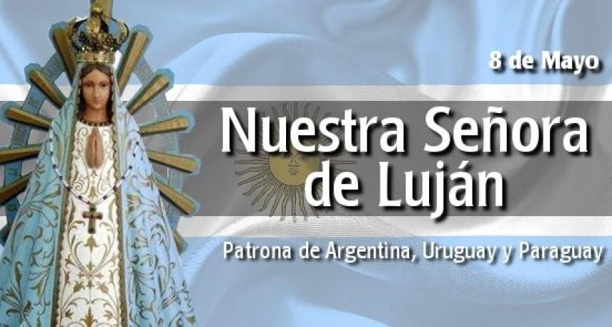 8 de mayo: Día de Nuestra Sra. de Luján, Patrona de la República Argentina y día Internacional de la Cruz Roja